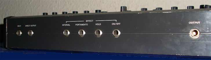 Korg X-911 Connections