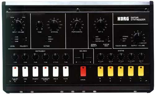 X-911 -- Guitar Synthesizer Korg