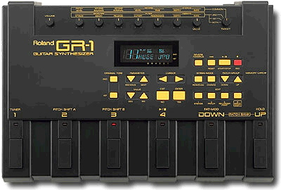ROLAND GR-1 GUITAR SYNTHESIZER QUICK MANUAL