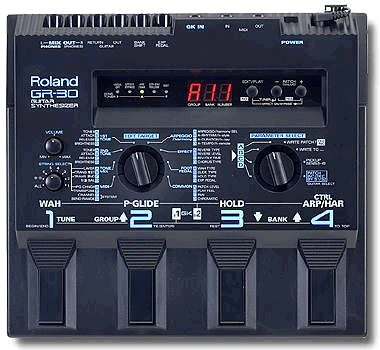 Creating an Arpeggio on the Roland GR-30 Guitar Synthesizer