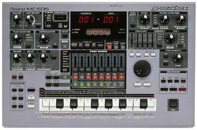 ROLAND MC-505 Groovebox Quick Guide Manual