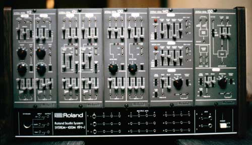 System 100 M Roland Synth